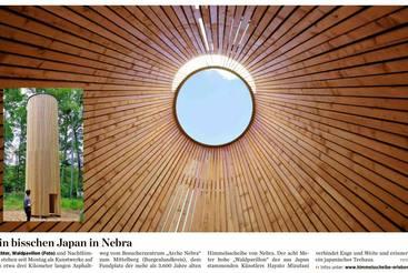 Ein bisschen Japan in Nebra
